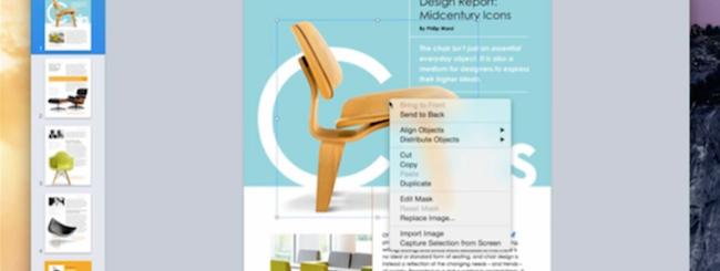 OS X Yosemite, la Golden Master rivela le novità di iWork 2014