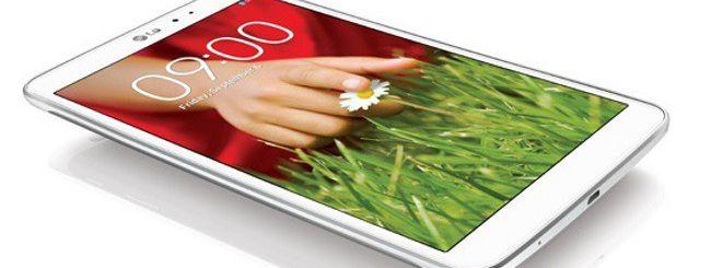 LG G Pad 8.3, il tablet che sfida iPad Mini