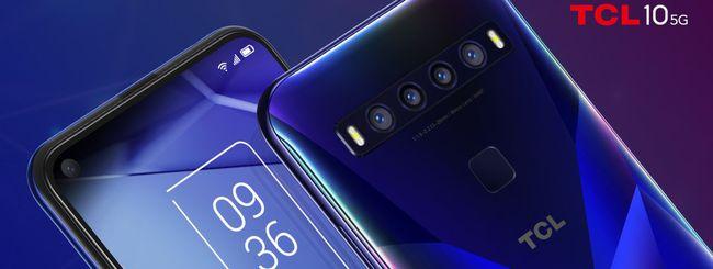 CES 2020: TCL 10 5G e smartphone Alcatel