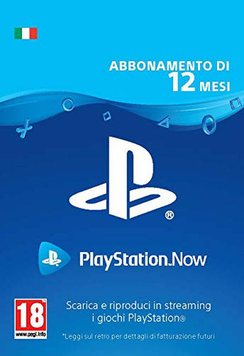 PlayStation Now 12 Mesi