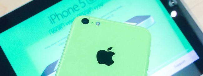 iPhone 5C anche da 8GB e in sconto da domani