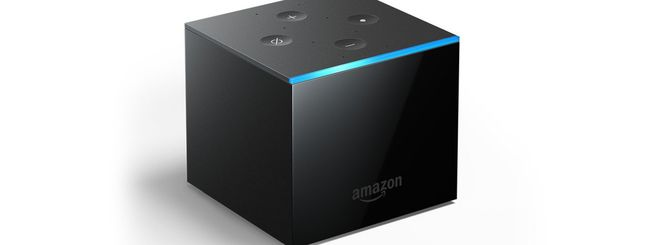 Amazon Fire TV Cube, streaming box con Alexa