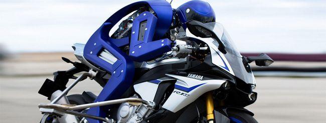 Yamaha Motobot, il robot che sfida Valentino Rossi