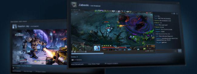 Steam, giochi in streaming da PC a mobile