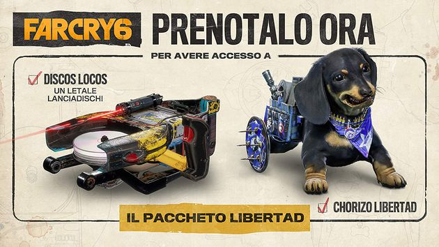 Far Cry 6 Bonus Preordine