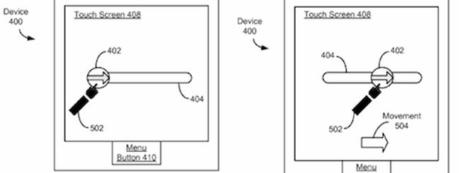Slide to unlock è un brevetto Apple