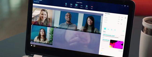 Amazon Chime, videoconferenza unificata