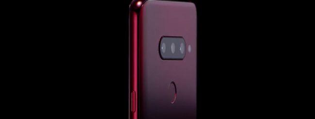 LG annuncia il V40 ThinQ con cinque fotocamere