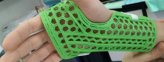 WASP: stampa 3D per tutori e parti di teca cranica