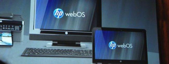 HP vuole integrare WebOS sui PC