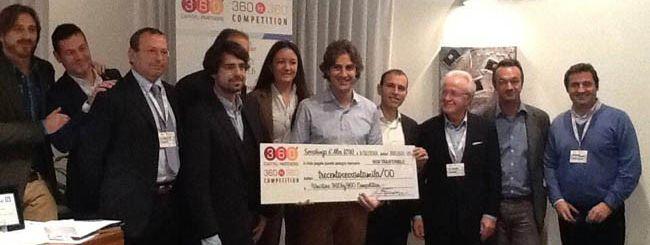 CharityStars vince la 360 startup competition