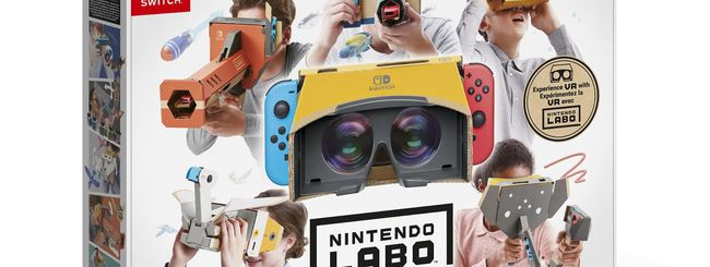Realtà virtuale su Nintendo Switch: Labo Kit VR