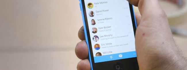 Skype 5.5 per iPhone, risposte rapide su iOS 8