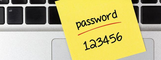 Peggiori password del 2015: 123456 e password
