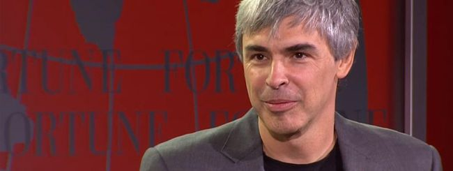 Prima intervista a Larry Page come CEO di Alphabet