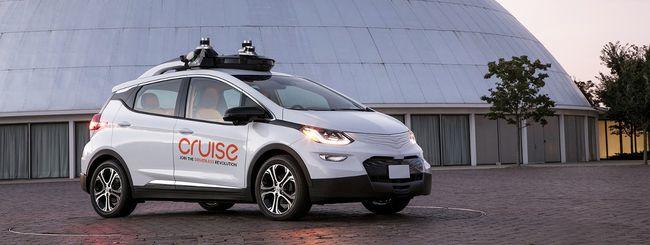 GM, servizio di taxi a guida autonoma nel 2019