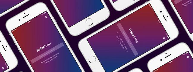 Firefox Focus per iOS disponibile in italiano