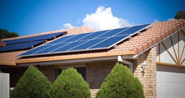 Impianto fotovoltaico casalingo