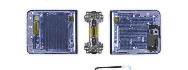 Samsung Galaxy Z Flip, la polvere entra facilmente