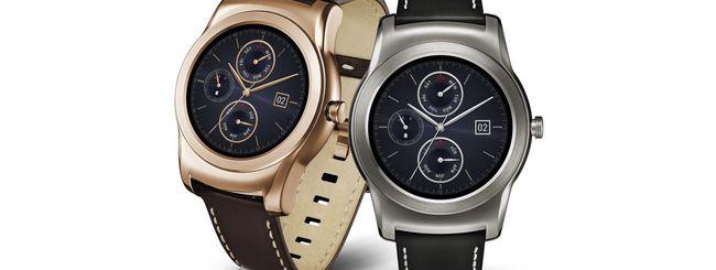 LG Watch Urbane, smartwatch di lusso