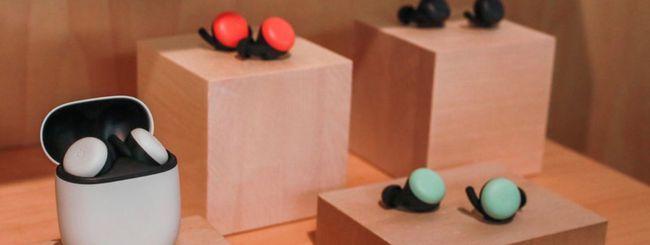Tre nuovi colori per i Pixel Buds 2 di Google