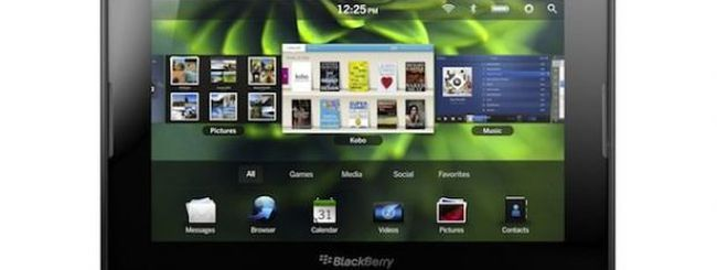 Neppure BlackBerry PlayBook è un Pad killer