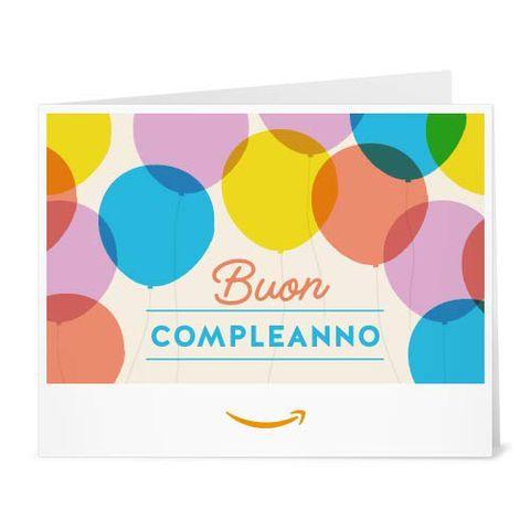 Buono Regalo Amazon.it - Stampa - Palloncini di compleanno