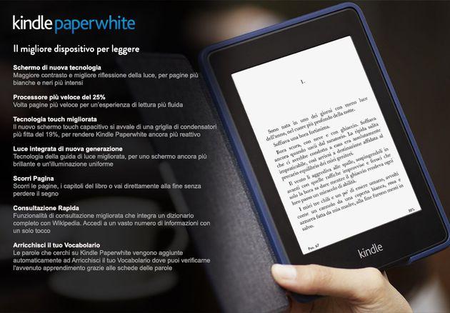 Il nuovo Kindle Paperwhite