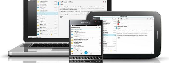 BlackBerry Blend, gestione integrata multi-device