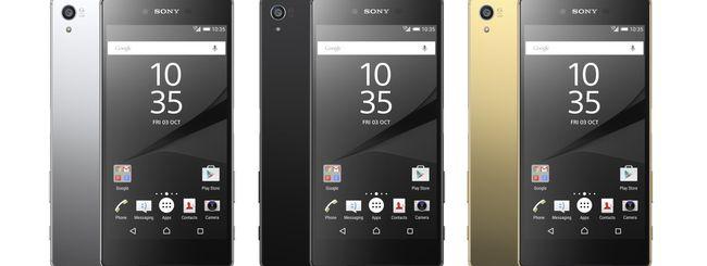 IFA 2015: display 4K per il Sony Xperia Z5 Premium