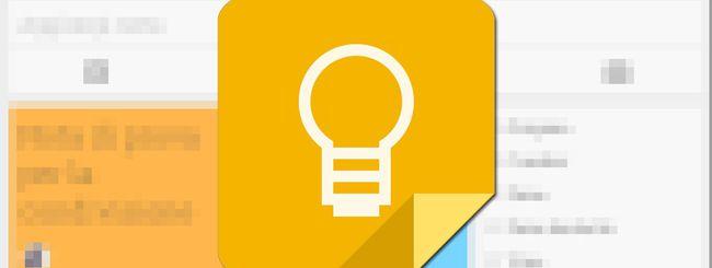 Google Keep: l'app aggiunge la modalità Disegno