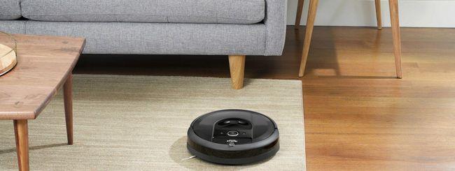 iRobot Roomba i7+, il robot che si svuota da solo
