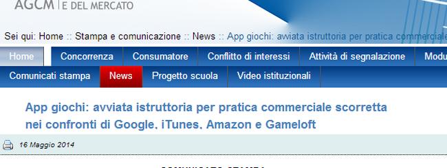 Apple nel mirino dell'antitrust italiana per le app gratuite