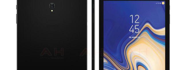 Samsung Galaxy Tab 4, prima immagine ufficiale
