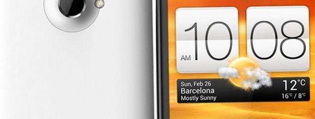 HTC One X, funzionamento anomalo del WiFi