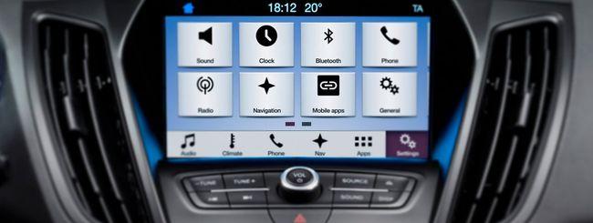 Ford, presentato Sync 3 al MWC 2016