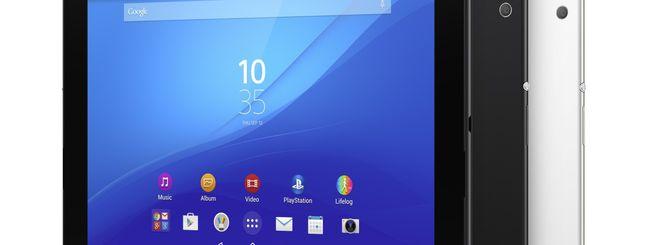 MWC 2015: Sony annuncia Xperia Z4 Tablet