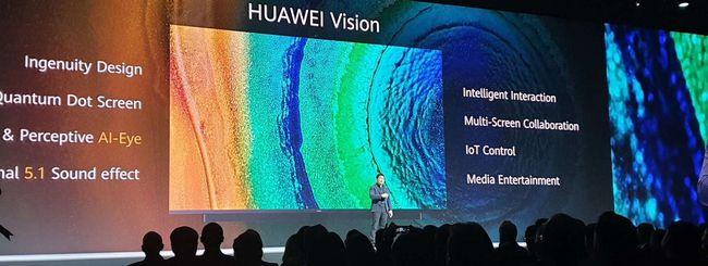 Huawei Vision è ufficiale, la TV 4K con Harmony OS