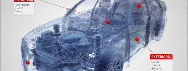 La self-driving car, fatta a pezzi
