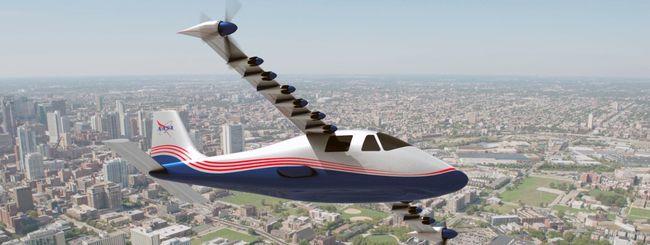NASA svela il suo prototipo di aereo elettrico