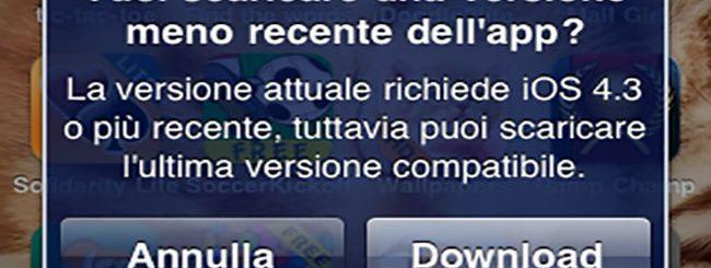 App Store: da oggi nuova vita ai vecchi iDevice