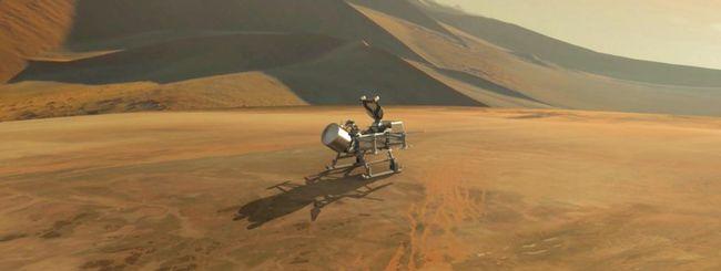 NASA verso Titano: un drone sarà lanciato nel 2026