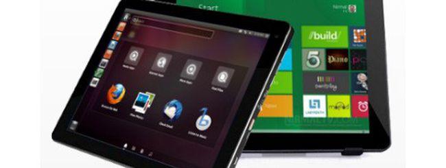 Ekoore Dylan: tablet Windows 8, Windows 7 e Ubuntu