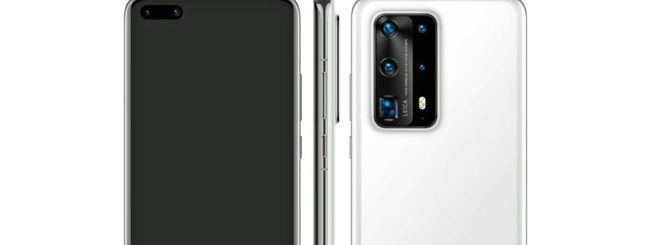 Huawei P40 Pro PE, cover in ceramica e 7 fotocamere