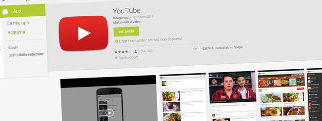 Google: update YouTube, Maps, Chromecast e altro