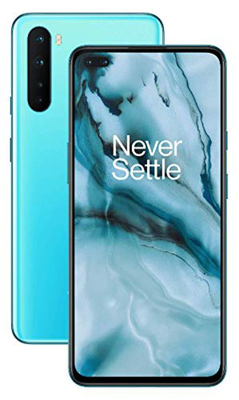 OnePlus NORD Smartphone Blue Marble (12GB RAM + 256GB Storage)