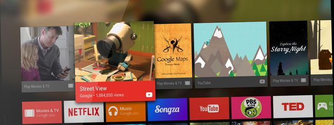 Google pubblica Android TV Launcher su Play Store