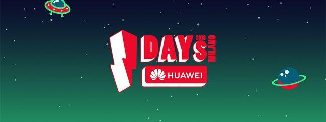 I-Days 2018: Huawei sul palco con la linea P20