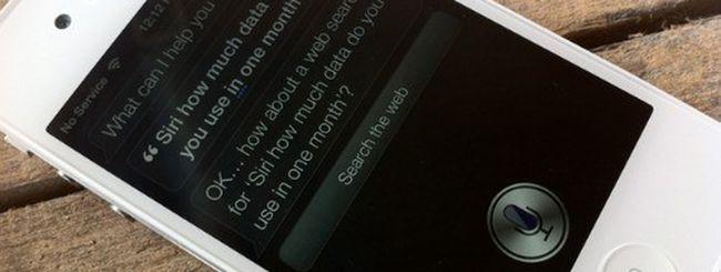 Siri, quanto traffico consuma?