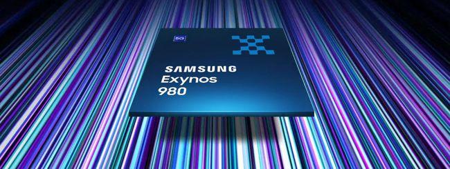 Exynos 980, primo chip Samsung con modem 5G